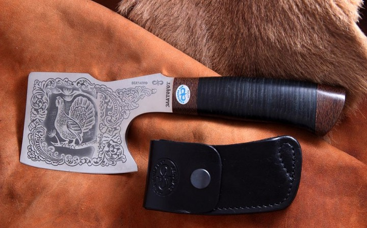 Hatchet leather